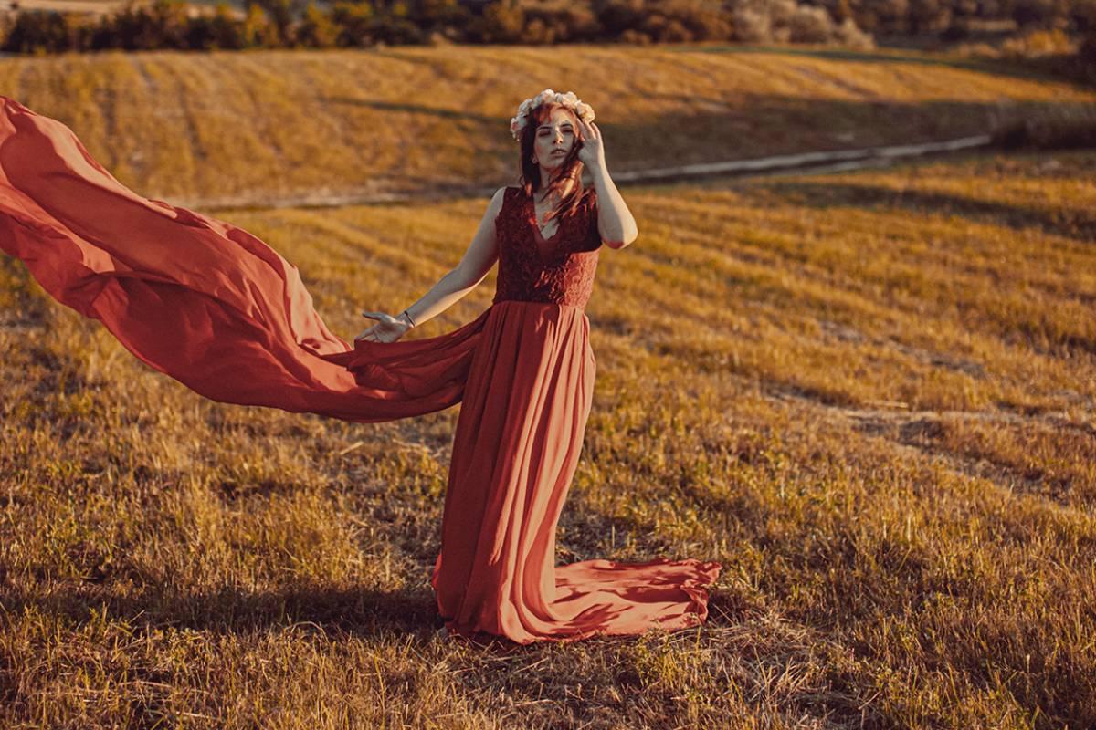 Nymphs Fashion Editorial in ELEGANT Magazine