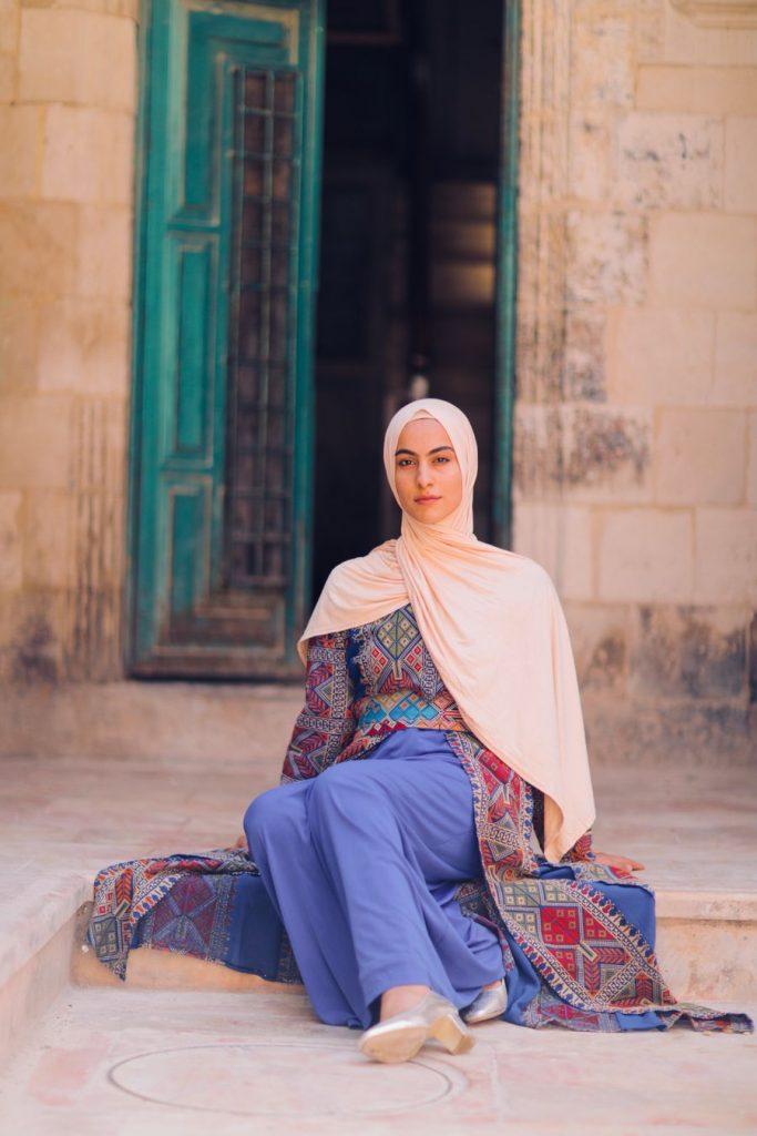Maram-Jarrar-modeling-hijab