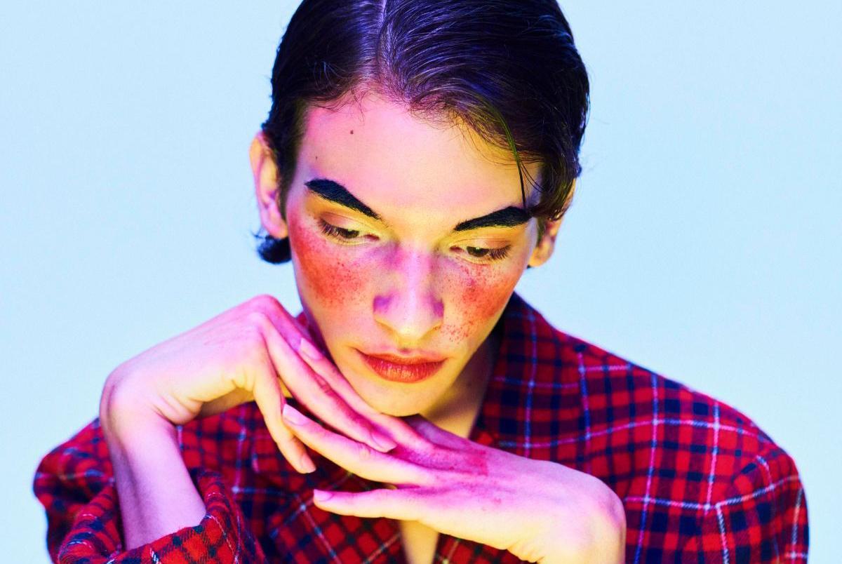 young transgender model