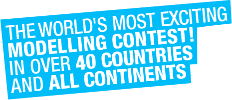 The biggest modelling contest in the world in over 30 countries and all continents