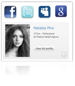 Condividi il tuo profilo